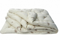 """Одеяло из овечьей шерсти """"Оригинал"""" (в тике, всесезонное)  ТМ ИвШВейСтандарт"""