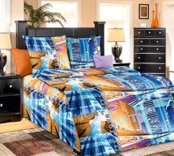 Купить постельное белье из бязи «Нью-Йорк» (1.5 спальное)