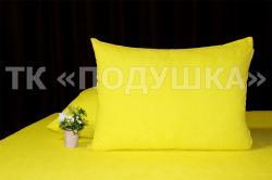 Купить желтые махровые наволочки на молнии в Калуге
