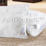 Купить подушку из эвкалипта «Двухкамерная» (чехол: сатин - жаккард с кантом)